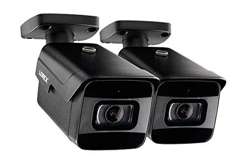 2-Pack of Lorex LNB9232S 4K 8MP 30FPS Fixed Lens Bullet Camera w/Listen-in Audio