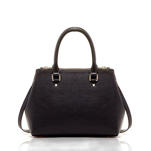 Satchel Chloe The Black Bag Leather Tote SUSU wTCS5tqS