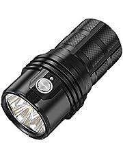 IMALENT MS06 Tactische zaklamp, 25.000 lumen, 6 stuks CREE XHP70 2nd leds, oplaadbaar, zaklampen voor outdoor, camping