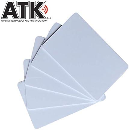 ATK ISO 14443A 10 Karten weiß NFC-kompatibel mit RFID Technologie mit Analog Chip zu MIFARE Classic 1K