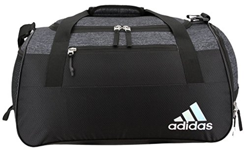 adidas Women's Squad III Duffel Bag, One Size, Trace Blue/Trace Blue Compass/Sun Glow