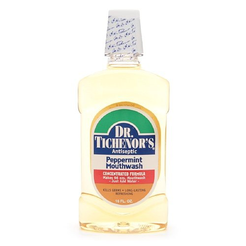 - Dr. Tichenor's Antiseptic Mouthwash, Peppermint 16 fl oz (Pack of 3)