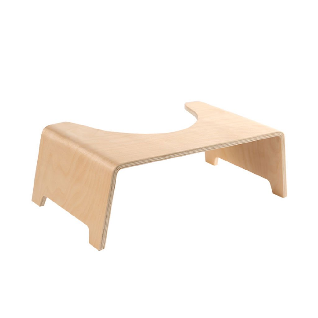 TangMengYun Premium Toilet Child Washbasin Footstool Solid Wood Non-Slip 45 26 16cm