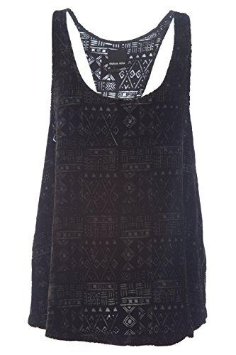Dolce Vita Gift - Dolce Vita Women's Sibly Tank Top Medium Black