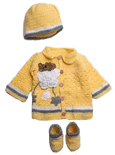Crochet Flower Sweater - 9