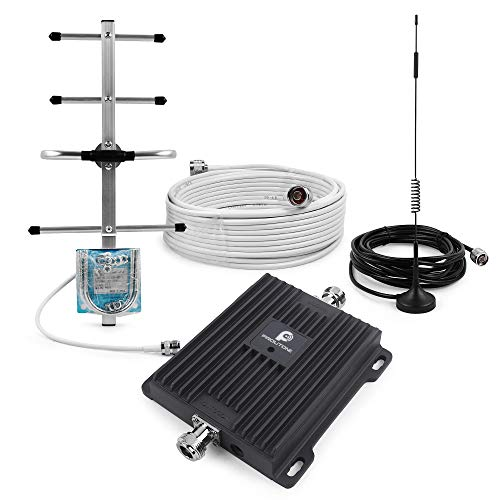 Cell Phone Signal Booster Repeater for Verizon 4G LTE Home Use - Boost Mobile Phone Data Signal by 700MHz Band 13 Amplifier Kit with Omni/Yagi Antennas
