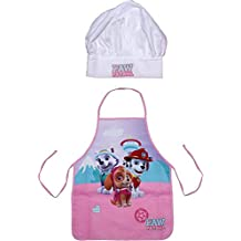 Paw Patrol Girls Skye Pups Team Childrens Cooking Chefs Hat and Apron Set By BestTrend