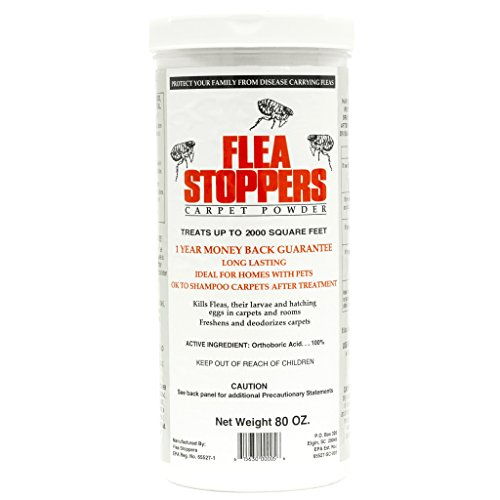 Flea Stoppers 4 (2.5 lb containers)