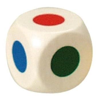Bartl 104676 - Farbwürfel 20 mm, weiß, 6 Farben aus Hol: Amazon.de ...