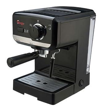 Sirge LUSSY - Máquina para café espresso y capuchino café de polvo y monodosis de papel