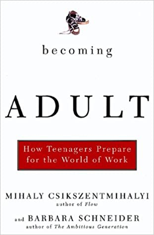 How Teenagers Prepare for the World of Work Becoming Adult