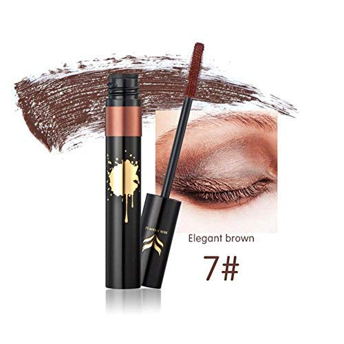 Unknown Colorful Mascara Eye Makeup Set Lengthening Curling Quick Dry Natural Eyelash Waterproof Long Lasting Cosmetics (07)