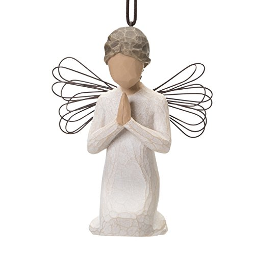 Willow Tree hand-painted sculpted Ornament, Angel of -
