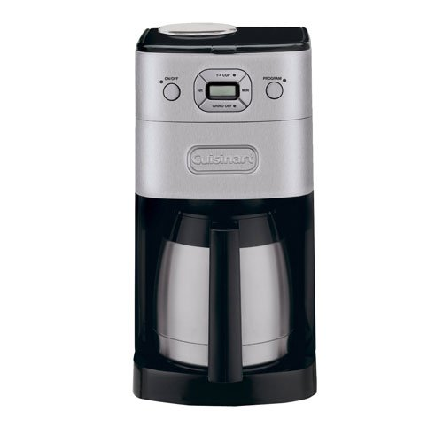 Buy Cuisinart DGB-650BC Grind & Brew Thermal Coffeemaker + Grind Central Coffee Grinder (Refurbished) + Replacement Water Filters (online)