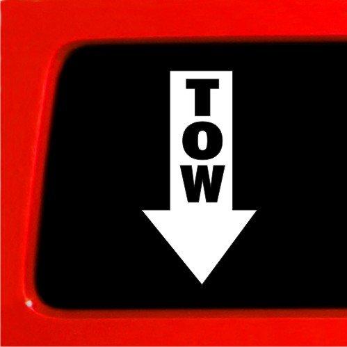 TOW STICKER JDM ARROW vinyl DRAG RACING HOOK DECAL CAR
