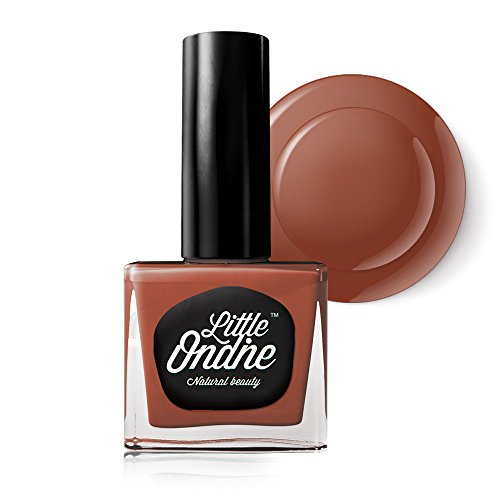 Little Ondine Peel off Fast Dry Zero Smell Non-toxic Natural Nail Polish,Brunt Orange(L742-Buttered Rum)