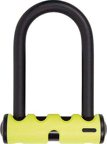 Abus Mini Round Shackle U Lock, 5.5/15mm, Yellow
