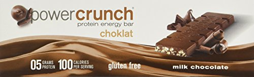 Bionutritional Research Group Power Crunch Chocolate Milk Chocolate Bar, 1.5 Ounce, 12 Count