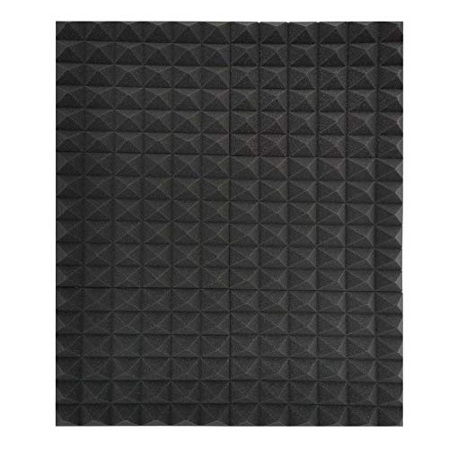 6 Pack Set Acoustic Foam Panels, Studio Wedge Tiles, 2