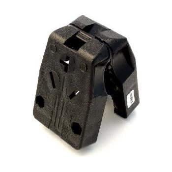 leviton 287-t dual power straight blade angle plug, 125/250 v, 30/50 a, 3  p, 3 w, black