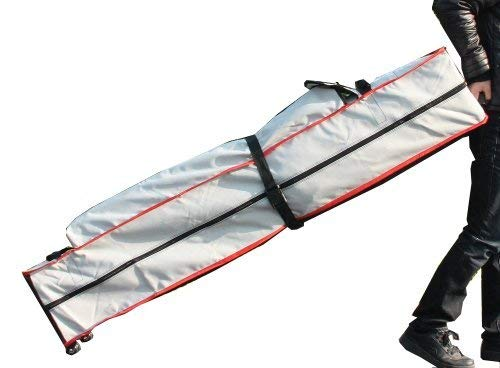 Eurmax Heavy Duty Wheeled Bag Pop up Canopy Tent Universal Rolling Storage Bag with Handles for 10x10 Canopy Instant Tent