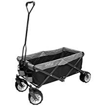Creative Outdoor Distributor 900256 All-Terrain Folding Wagon, (Purple & Grey) - Divider Included