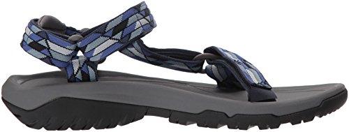 Teva Mentre Mentre I Portatori Di M Uragano Xlt2 Sportiva Sandalo Blu / Multicolore