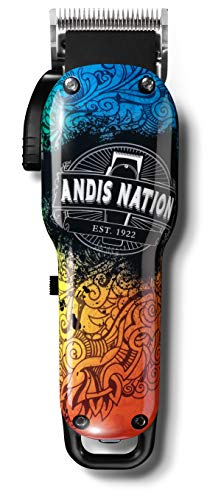 Andis Cordless Envy Li Nation Adjustable Blade Clipper 73045, GRAFFITI