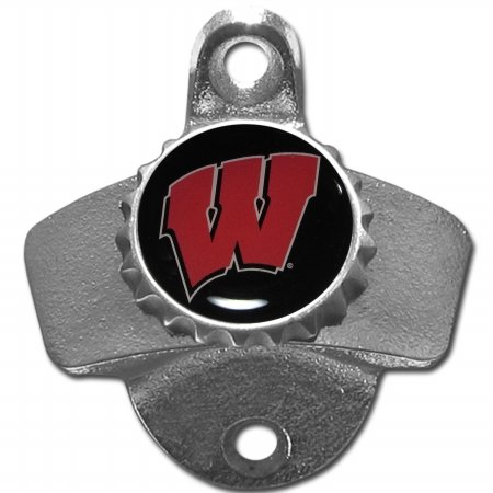- Siskiyou NCAA Wisconsin Badgers Wall Mounted Bottle Opener, 26