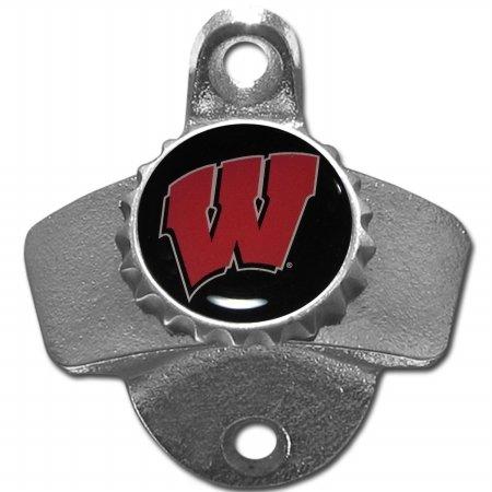 Siskiyou NCAA Wisconsin Badgers Wall Mounted Bottle Opener, 26