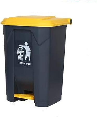 Bote de basura Cubo de basura grande al aire libre Pedal de basura Pedal de cocina