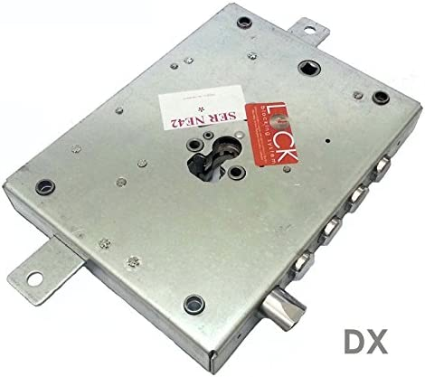 Cerradura Puerta Blindada Cilindro europeo Dim 150,5x 206ser Ne427D