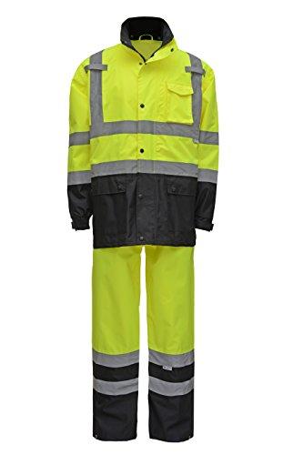 High Visibility Rain Gear - 5