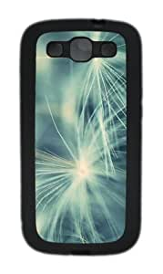 Dandelion 8 Custom Design TPU Samsung Galaxy S3 Case and Cover - Black