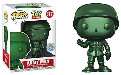 Disney Toy Story Lunch - Funko Pop! Disney #377 Toy Story Metallic Army Man (Box Lunch Exclusive/Toy Story Land Grand Opening)