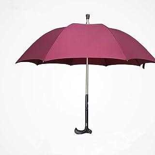 Zhen Lin Multi-Fonction Béquilles Parapluie Vieux Homme Béquilles Extérieures Parapluie Parapluie Marche Parapluie Bâton De Marche