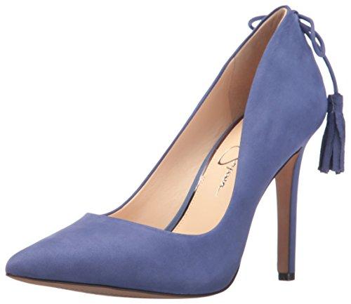 Jessica Simpson Vrouwen Centella Jurk Pomp Flanel Blauw