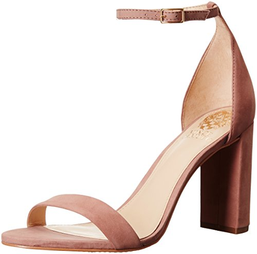 Vince Camuto Women's Mairana Dress Sandal, Dusty Rose, 10 M US