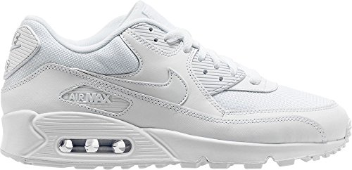 Nike Air Max 90 Essential Men Lifestyle Casual Sneakers New White - 10