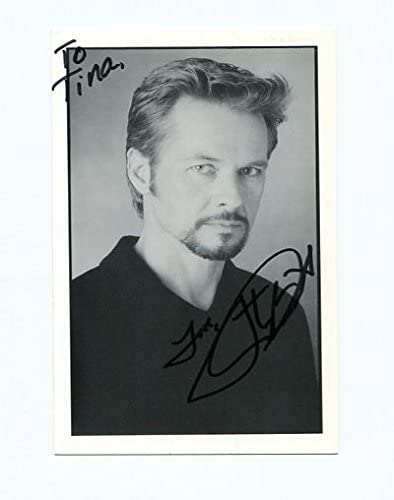 Movie Photo Stephen Nichols 4x6 Autographed Card Days Of Our Lives Young And The Restless At Amazon S Entertainment Collectibles Store