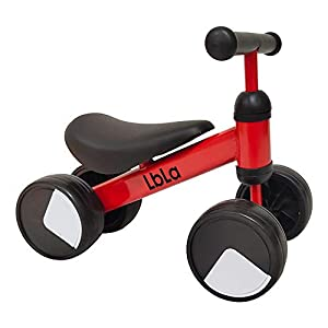 LBLA Balance Bike Red,Ride on...