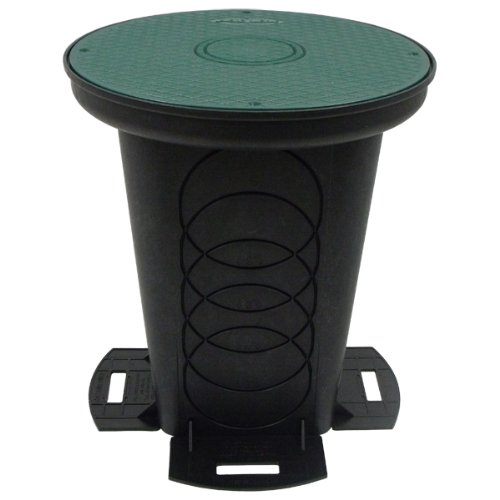 Storm Drain FSD-3017-12SKIT 12'' Catch Basin Kit w/ Lid by Storm Drain