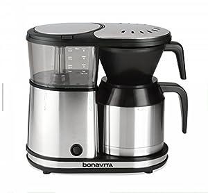 Bonavita BV1500TD 5-Cup Digital Carafe Coffee Brewer, Stainless Steel by Bonavita