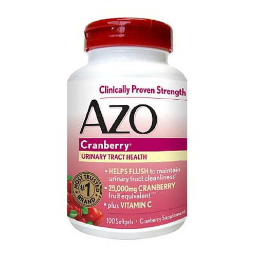 AZO Cranberry, Maximum Strength, Softgels 100 ea (Pack of 2) For Sale