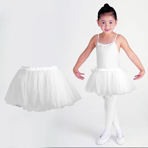 Tutu/Falda De Tul Blanco Bailarina Baile Danza Ballet Disfraz