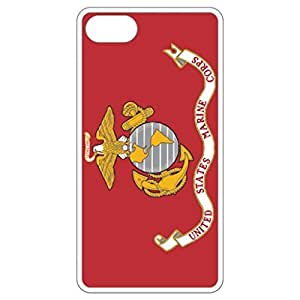 U.S. Marine Corps Flag White Apple Iphone 4 4s Cell Phone Case - Cover