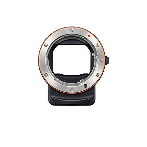 Sony LAEA3 35mm Full Frame A-Mount Adapter - Black/Silver