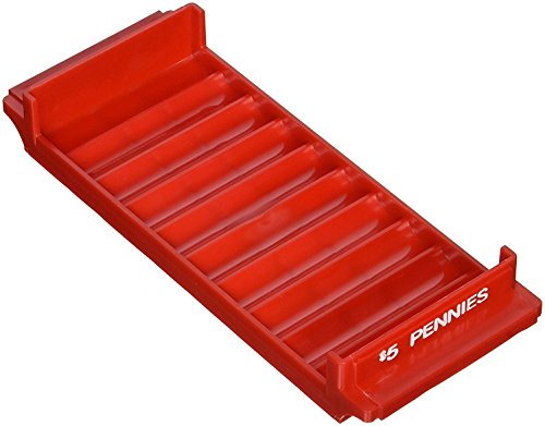 (MMF  Industries Coin Tray - Red, 1 Each (212080107))