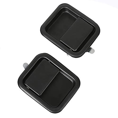 - Heavy Duty Metal Wrangler Exterior Outside Door Handle Pair Full Door For 1991-2006 YJ TJ
