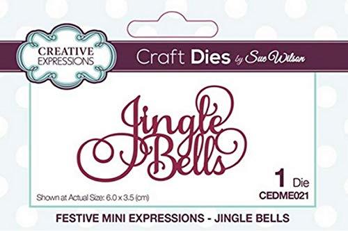 Sue Wilson Craft Dies CEDME021 Mini Expressions - Jingle Bells